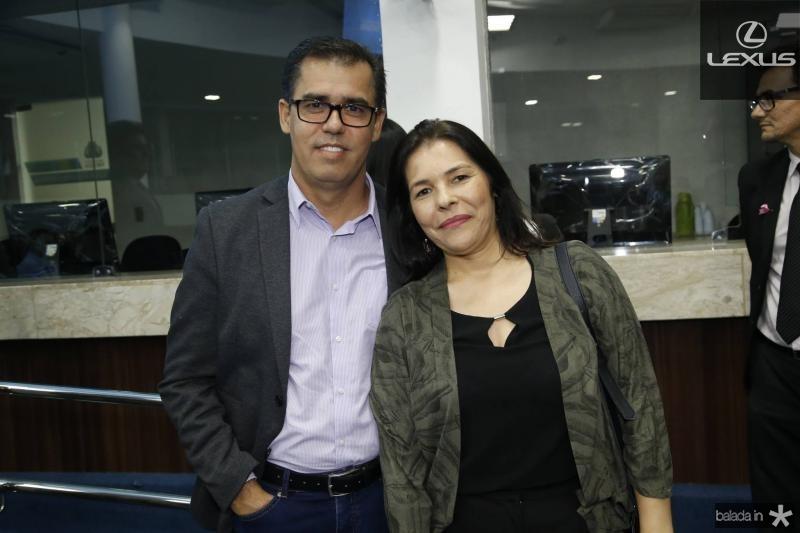 Edson Geraldo e Stella Souza