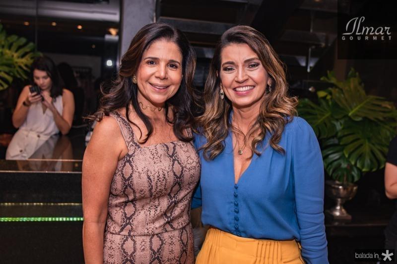 Maria Lucia Negrao e Marcia Travessoni