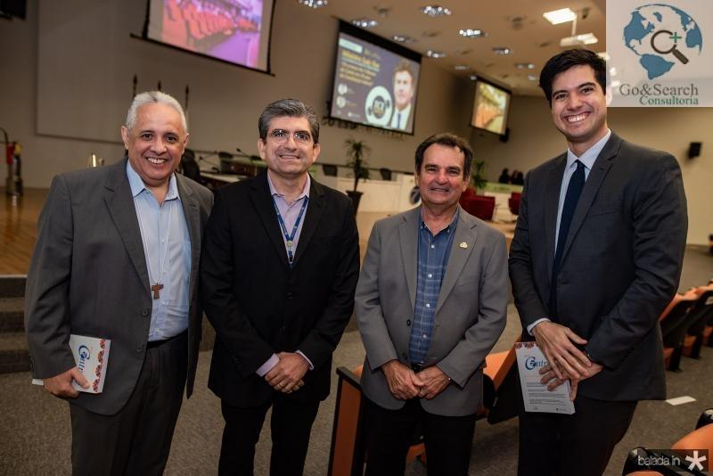Irapuan Aguiar, Luis Mario, Felipe Nottingham e Leonel Oliveira