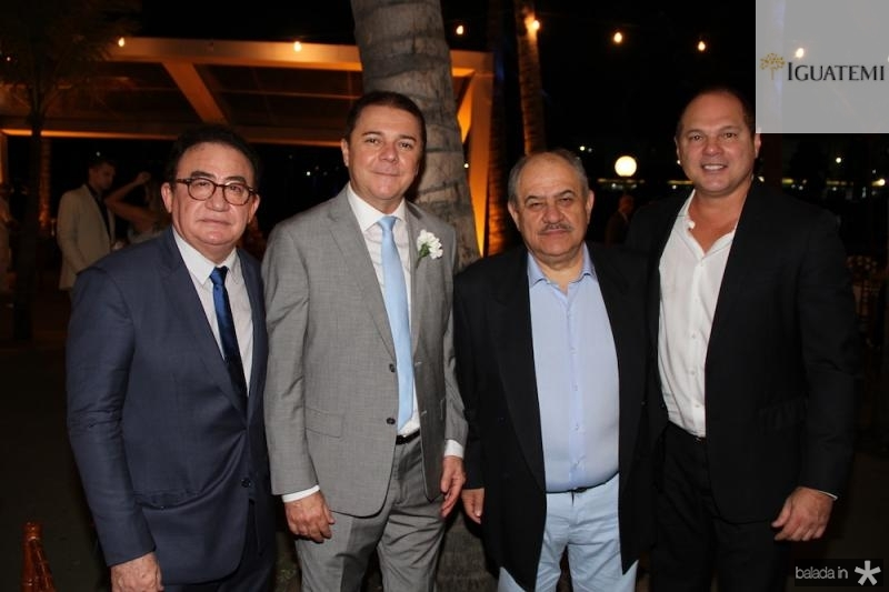Manoel Cardoso Linhares, Eliseu Barros, Marcelo Teixeira e Freitas Junior