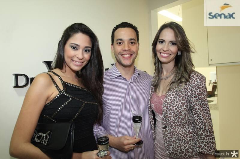 Brenda Bernardo, Rafael Reis e Aline Costa