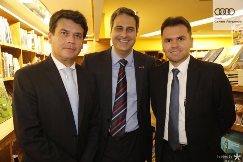 Renan Viana, Erinaldo Dantas e Davi Marques