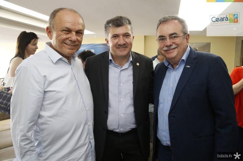 Honorio Pinheiro, Antonio Henrique e Assis Cavalcante