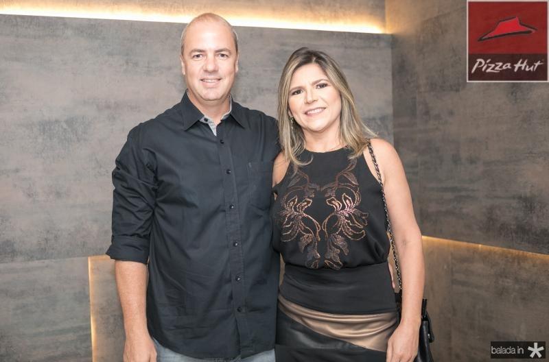 Rodrigo e Claudia Rolim