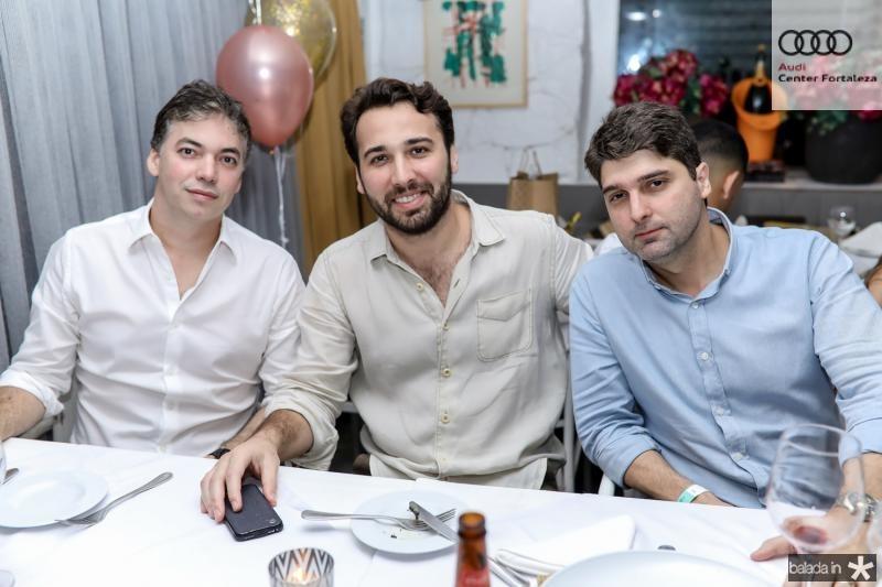 Gilberto Carvalho, Thiago Pontes e Fabio Arruda