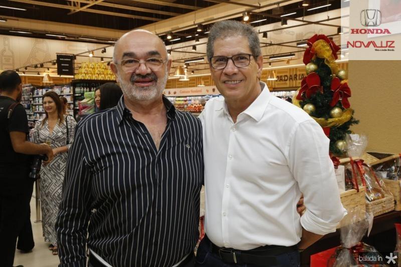 Luciano Aceto e Severino Neto