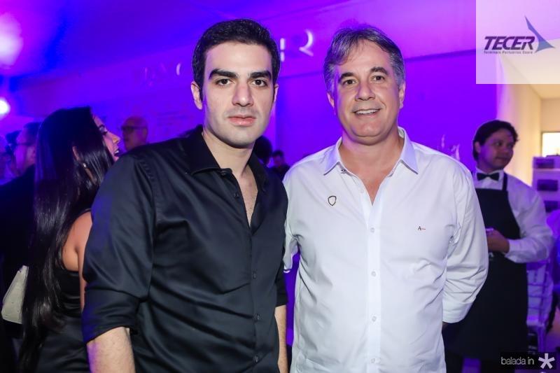Rodrigo Nogueira e Marcos Pessoa