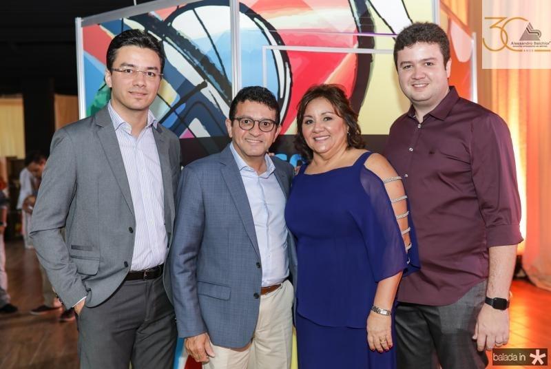Fernando, Helio, Norma e Antunes Brito