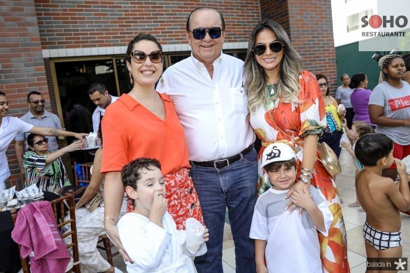 Sylvinho, Silvinha e Rafael Leal, Jamile Lima e Lorenzo Cambraia