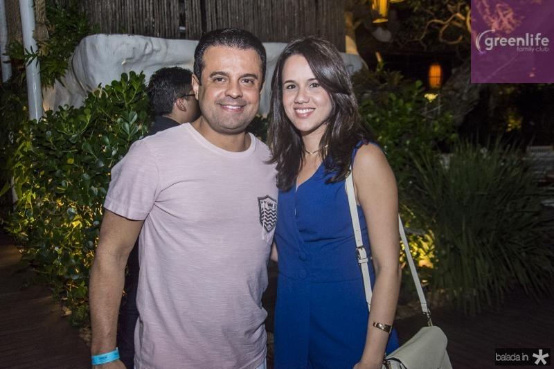 Alan Bringel e Camila Lima