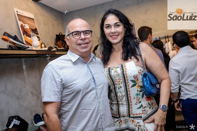 Marcio Menezes e Isabella Fiuza