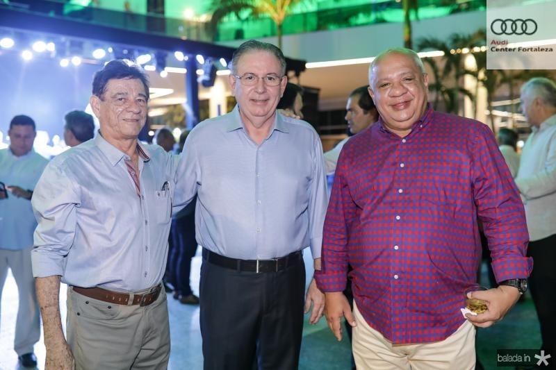 Elias Carmo, Ricardo Cavalcante e Pedro Alfredo