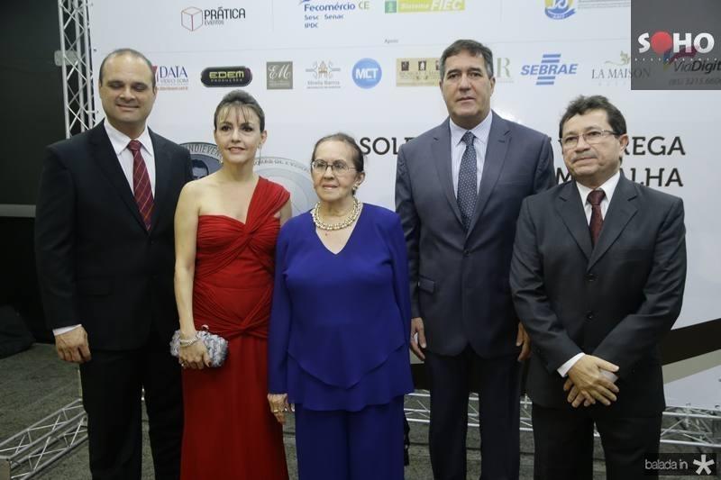 Daniel Fiuza, Circe Jane, Zenilde Matoso, Luiz Gastão Bittencourt e Alcir Porto