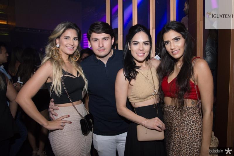 Bruna Melo, Gustavo Bras, Camila Albuquerque e Lorena Magalhaes