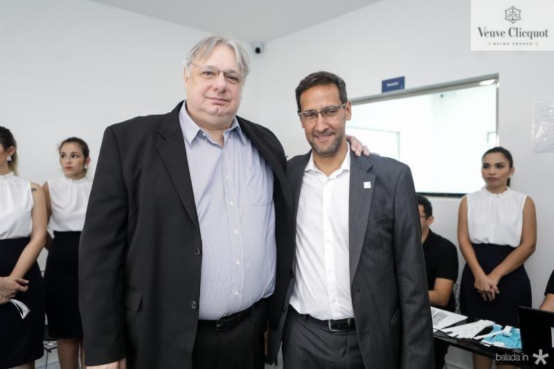 Moroni Torgan e Antonio Nunes