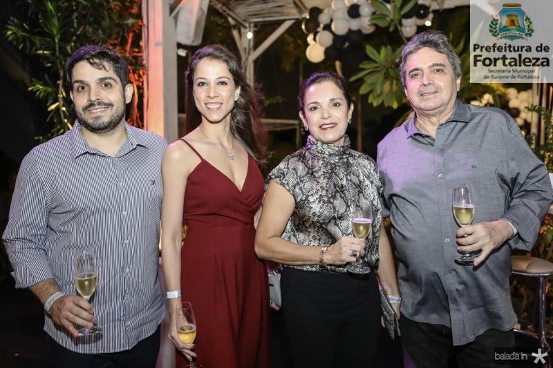 Fernando Laprovitera, Natercia Saboia, Elusa e Totonho Laprovitera
