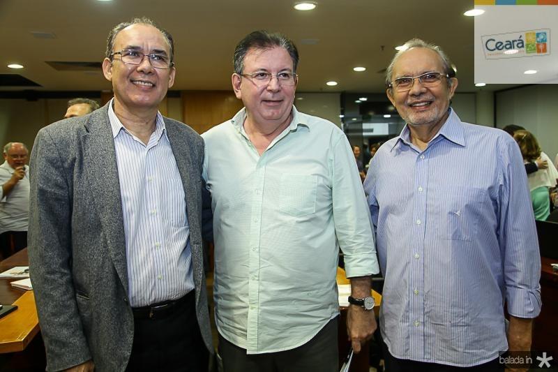 Francisco Teixeira, Ricardo Cavalcante e Joao Teixeira