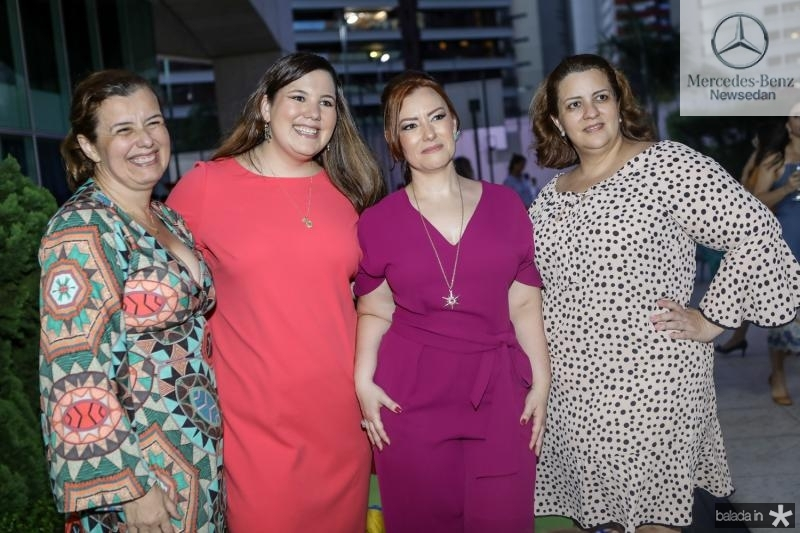 Auxiliadora, Livia, Aline e Claudia Felix