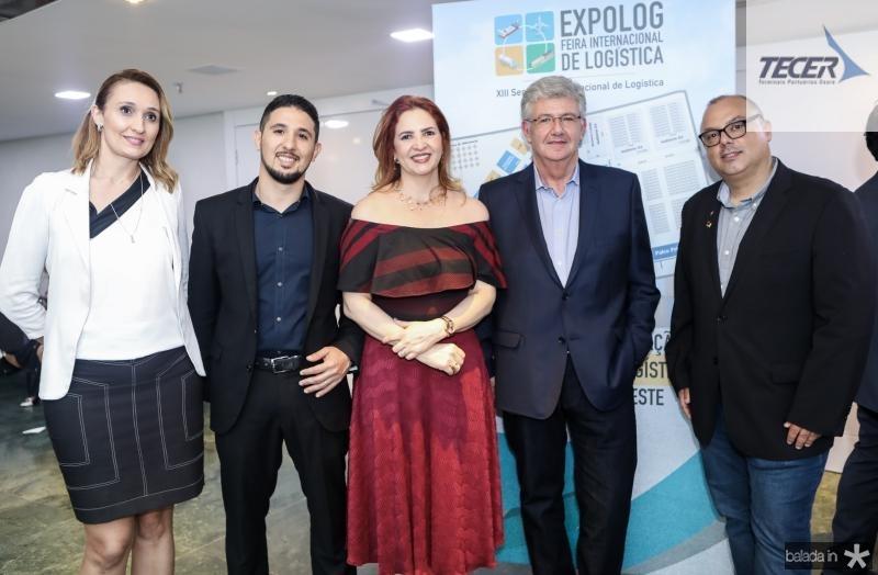 Myrella Abreu, Marcus Santos, Enid Camara, Carlos Maia, Carlos Alberto Nunes