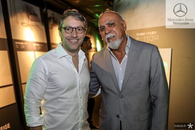 Francisco Marinho e Carlos Ribeiro