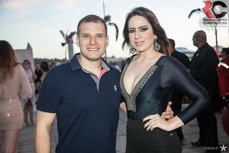 Luis Gustavo e Amanda Aguiar