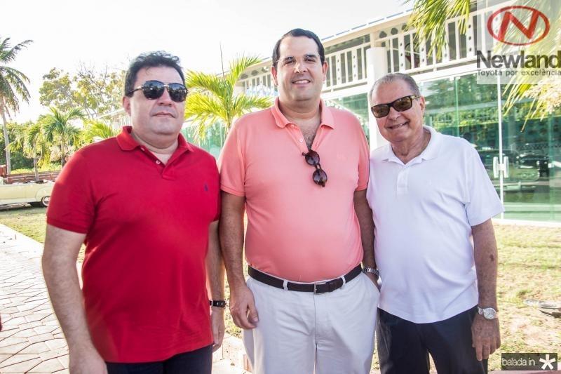 Fernando Ferrer, Lucio Carneiro e Valman Miranda