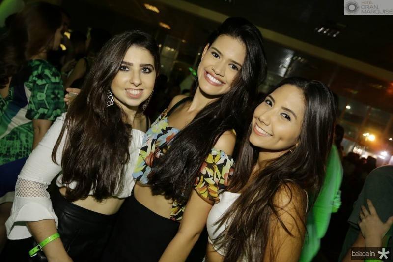 Larissa Ribeiro, Mariana Matos e Luiza Thaina
