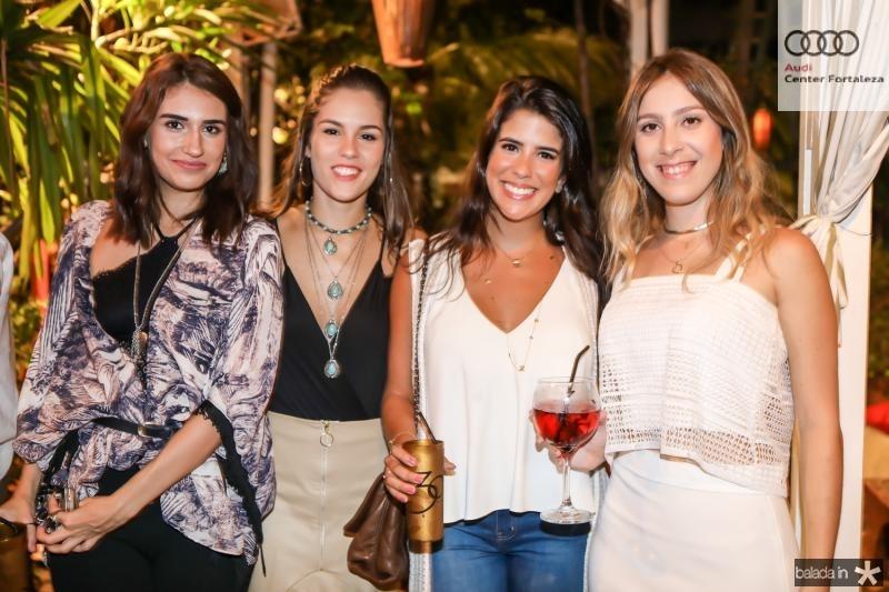 Larissa Luz, Dani Eloy, Marcela Pinto e Talita Pontes