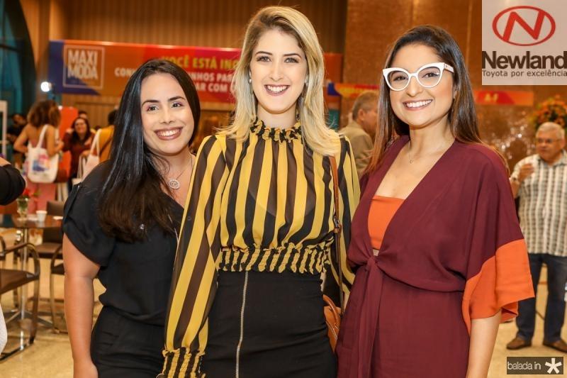 Priscila Medeiros, Gabriela Driesen e Mariana Azevedo