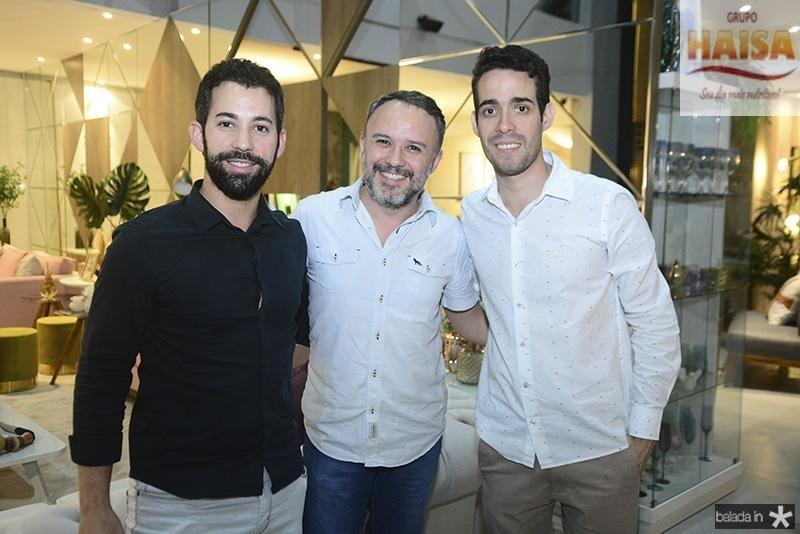 Renan Dib, Vinicus Lima, Pedro Paulo Rolim