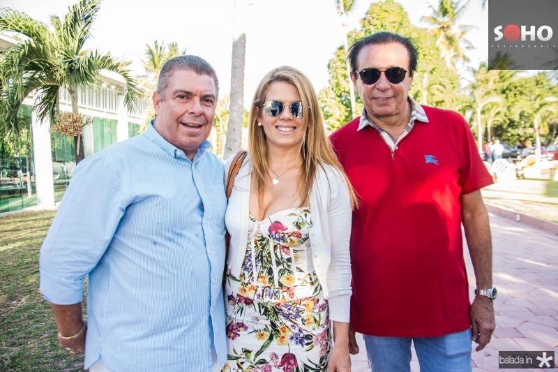 Ricardo Studart, Leticia Studart e Gaudencio Lucena