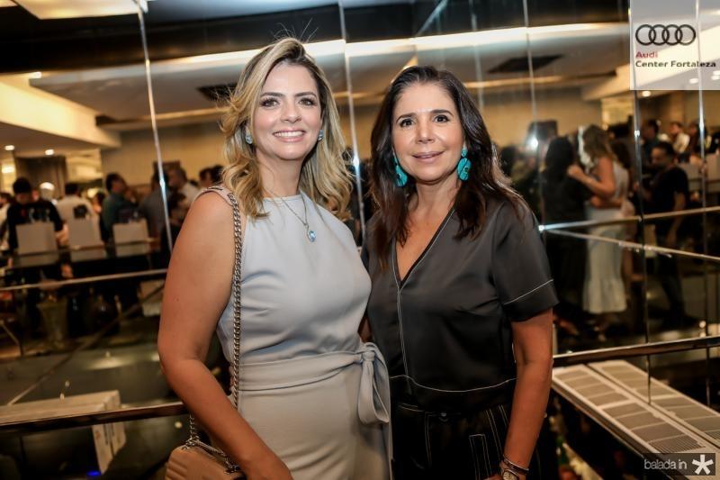 Tais Pinto e Maria Lucia Negrao