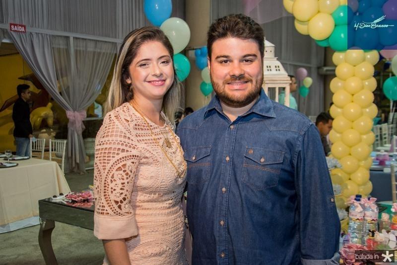 Paula Freitas e Adalto Carneiro