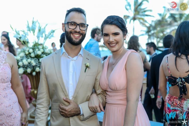Felipe Melo e Nina Borges