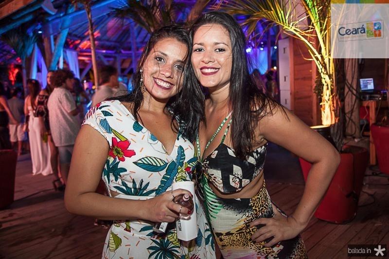 Raiana Goncalves e Debora Leal