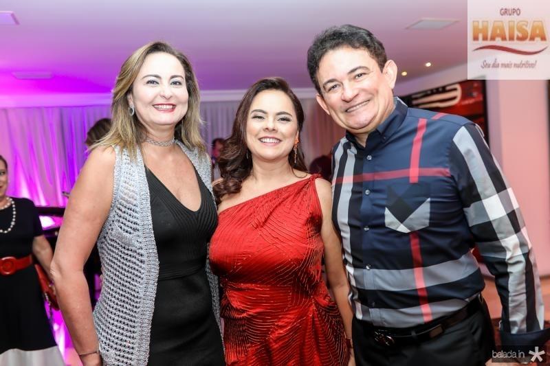 Fatima Santana, Denise Cavalcante e Fernando Santana