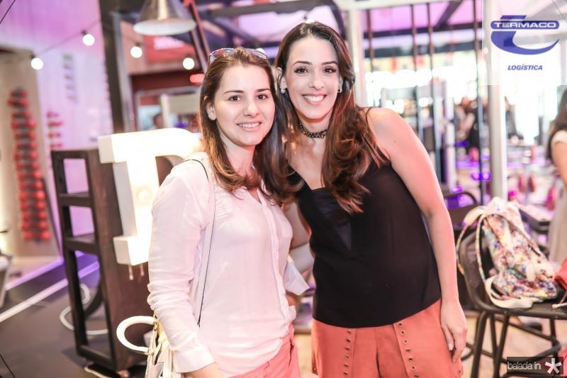 Sara Borges e Melissa Arruda