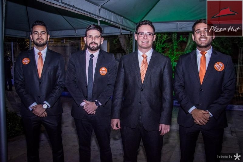 Anderson Silveira, Erick Freire, Welson Lopes e Joao Paulo Martins