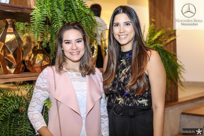 Juana Bahia e Lara Pouchain