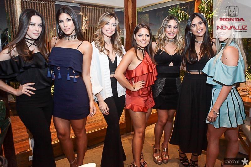 Fernanda Abreu, Mariana Veloso, Liz Alencar, Natasha Diniz, Graziela Maia, Germana Frota e Maria Clara Boriz
