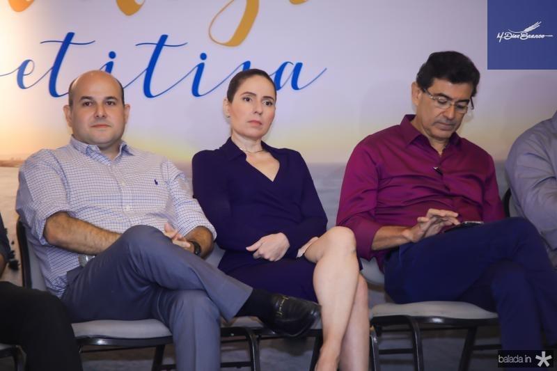 Roberto Claudio, Agueda Miniz e Alexandre Pereira