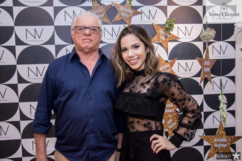 Cristino Cordeiro e Nicole Vasconcelos