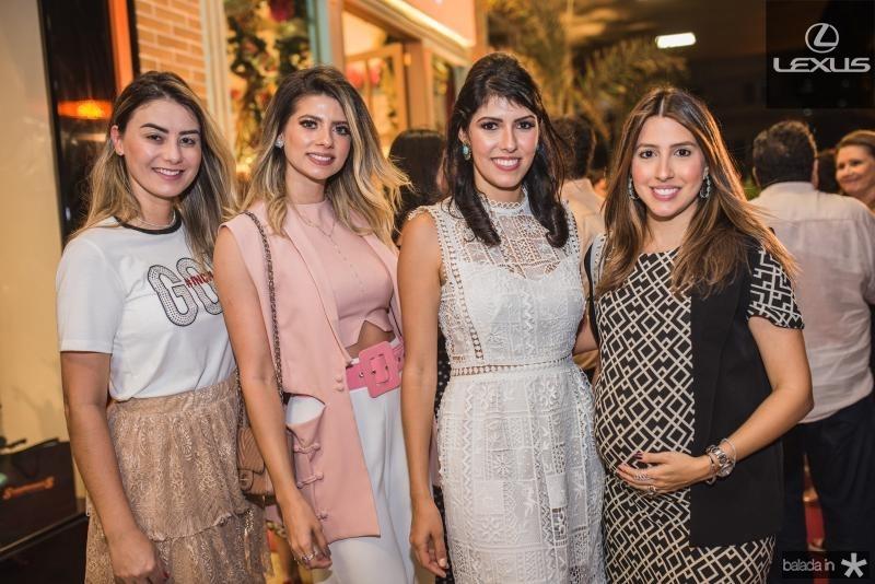 Mariana Pimenta, Leli Albuquerque, Flavia Laprovitera e Tayra Romcy