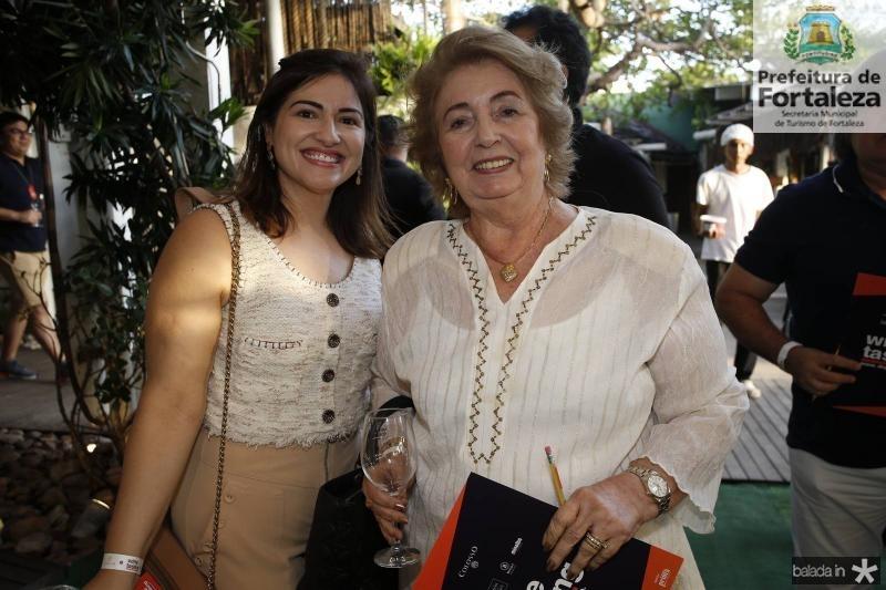 Liliane Liberato e Gabriela Castro