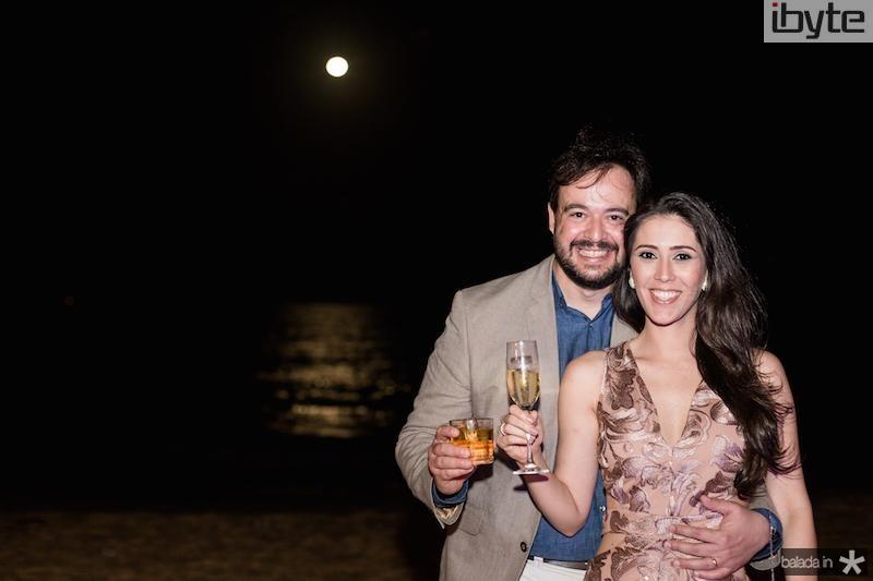 Daniel e Paloma Carvalho