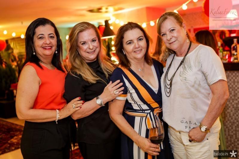Fatima Serpa, Stela Romcy, Lucia Pires e Cristina Pires