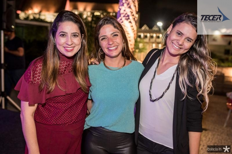 Anaelise Holanda, Laura Bordini e Cecilia Sousa