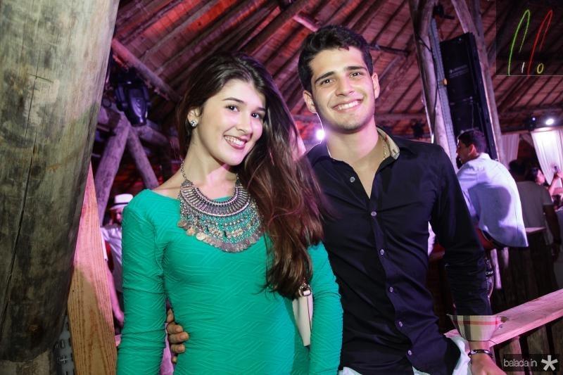 Julia Holanda e Marcelo Barra
