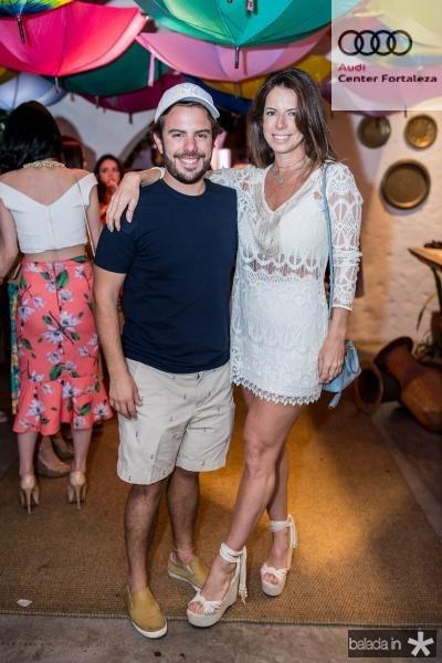 Claudio Nelson e Lina Franck
