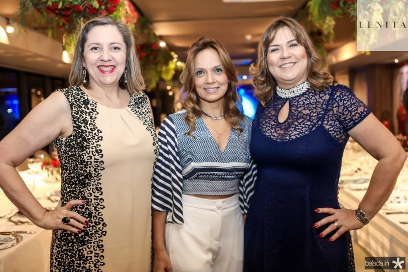 Veronica Patricio, Cristina Tavares e Marcia Pinheiro